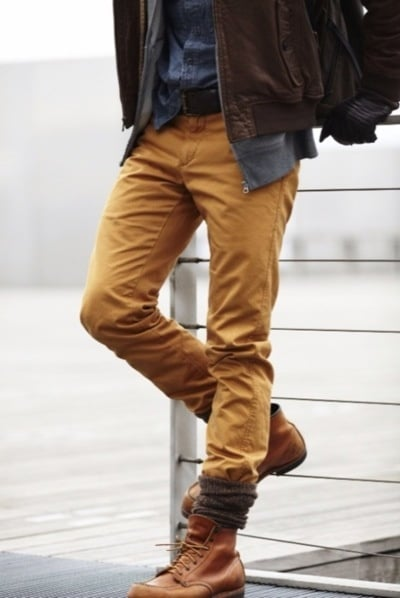 look avec timberland homme