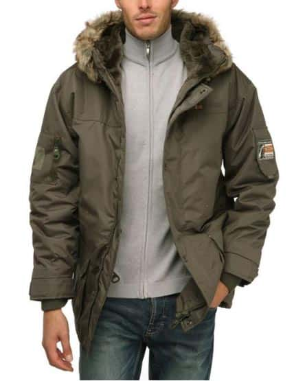 Parka Alaska, chez GEOGRAPHICAL NORWAY